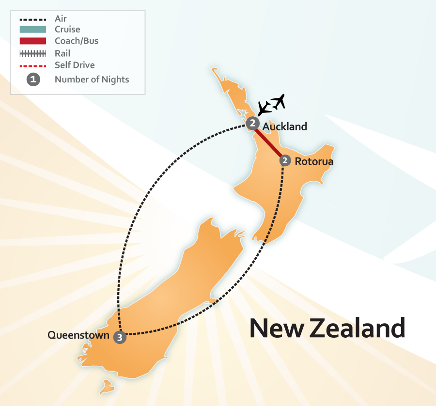 New Zealand's Amazing Nature Map